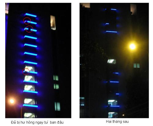 Sử dụng đèn led cho công trình ?