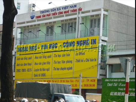 Thi công Pano, pa nô, billboard