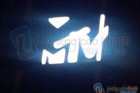 Thi công logo MTV