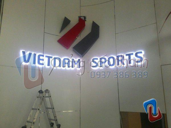 San xuat, lap dat logo Vietnam Esports