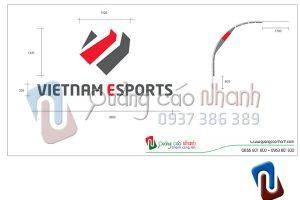Sản xuất, lắp đặt logo Vietnam Esports