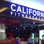 Thi công quảng cáo California fitness & yoga