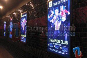Sản xuất hộp đèn siêu mỏng UFC