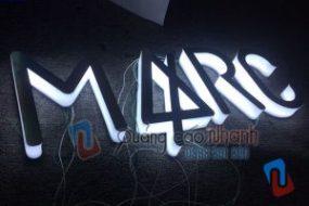 Logo MARC led Hàn Quốc sáng hông